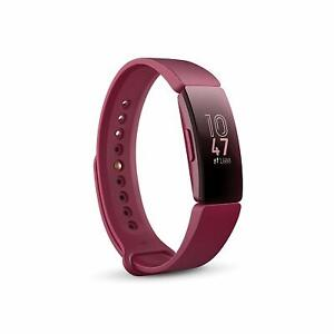 Fitbit FB412BYBY Inspire Activity Tracker with S & L Band One Size Sangria