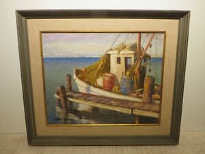 16x20 org.1940 oil painting by Rolla Taylor of