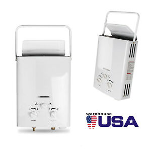 Home Safe Use 6L Natural Gas Tankless Hot Water Heater Instant Whole House