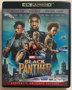 MARVEL BLACK PANTHER 4K ULTRA HD 1 DISC ONLY FREE WORLD WIDE SHIPPING BUY IT NOW
