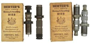 Vintage Herter's Sizing & Seating Dies 30-06 .308 Winchester Mark II Lot 2