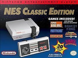 Nintendo NES Classic Edition Home Console - MODDED WITH 700 Games.