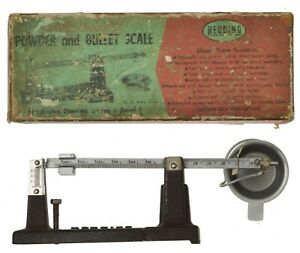 Vintage Redding Powder and Bullet Scale Model w Box + Instructions