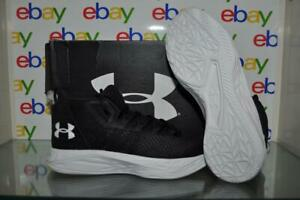 Under Armour  Womens Jet Mid Basketball Shoes 3020627 002 Size 8 Black NIB