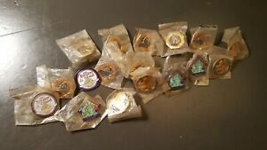 Lot of 16 Lapel ATA Trap Shooting Competition Hat  Lapel Pins (un-opened) 2006