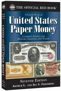 New Official Red Book Guide For United States Paper Money US Currency Catalog $20.95