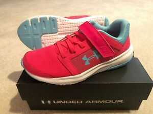 [3020475-600] Under Armour PS Unlimited AC Girl's Running Shoes 1Y Pink