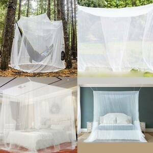 Mosquito Net Lightweight Pyramid Shelter With Storage Bag Single For Camping Bed