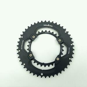 bikinGreen CNC Chainring 46 30T FoR Shimano 4 Arm 10 11Spd Road Cyclocross Tour $83.90