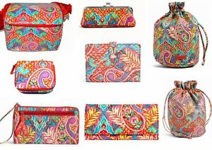 NWT VERA BRADLEY RETIRED PAISLEY IN PARADISE COLLECTION -  -FREE SHIPPING -