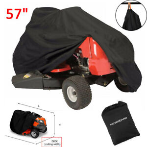 57#x27;#x27; Riding Lawn Mower Tractor Cover Garden Outdoor Yard UV Protector Waterproof $15.69