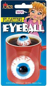 Novelty Floating Eyeball Gross Prank Gag Gift Joke For Your Highball Bar Drink