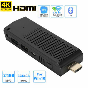 Mini PC Computer TV Stick X5-Z8350 HDMI 4K 4-Core Dual-band with TF Card Slot LJ