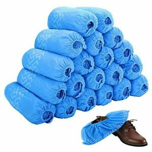 Disposable Boot & Shoe Covers 200 Pack (100 Pairs) Non-Slip Durable Indoor