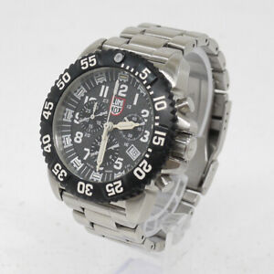 LUMINOX NAVY SEAL STEEL COLORMARK CHRONOGRAPH 3180 SERIES size - color bla (34