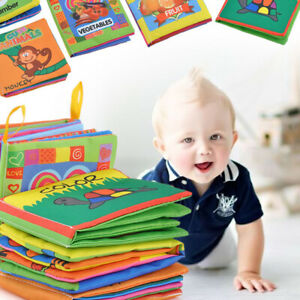 For Kid Baby Intelligence development Cloth Bed Cognize Book Educational Toy