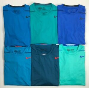 Men's Nike Pro Combat FITTED Hypercool Dri-Fit Athletic Shirt