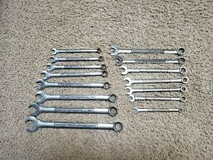 CRAFTSMAN Speed Wrench Set of 8  Combination Wrench Set SAE & Metric USA