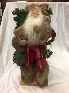 Lynn Haney Santa Of The Living Woods Signed 1993