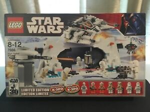 Lego Star Wars Hoth Rebel Base 7666 Limited Edition K-3PO Dack Ralter Skywalker