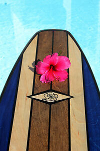 Surfboard Outdoor Table Shower Bar or Wall hanger Art Decor