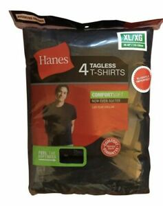 Hanes Men's Comfortsoft T-shirts 4-pack
