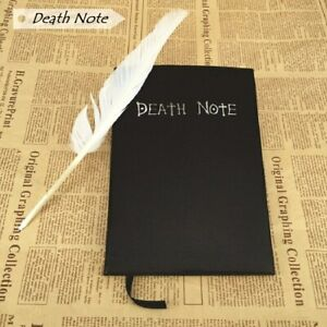 Harphia Notebook Death Note Planner Feather Pen included cosplay Anime Theme