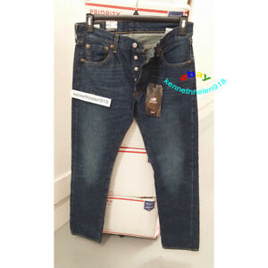 LEVIS 501 MADE IN THE USA ORIGINAL FIT SELVEDGE JEANS 005012455 MENS SIZE 30X32
