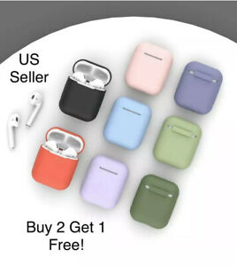 AirPods Case Cover Premium Silicon Protective For 1 & 2 Top Quality! USA Seller