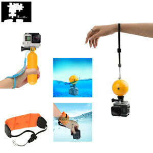Water Accessories Kit Floating Ball Hand Grip Strap for Sport Action Camera