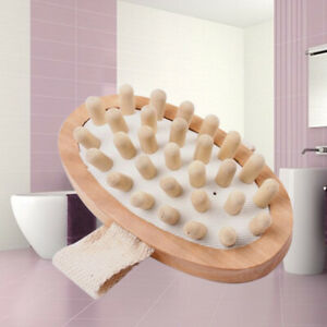 Bullet Wooden Convenient Eco Friendly Healthy Durable Body Massage Bath Brushes