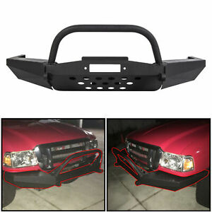 For 1998-2011 Elite Ford Ranger Modular Front Winch Bumper with Bull Bar
