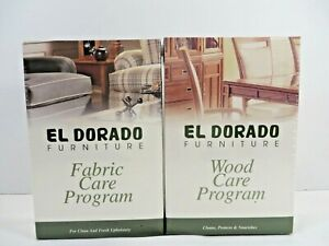 EL Dorado Furniture Fabric and Wood Care Program Kits by Stainsafe NEWSealed Box