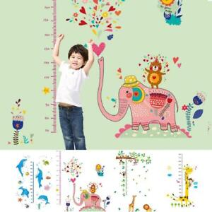 Removable Height Chart Measure Wall Sticker Decal for Kids Baby Room Giraffe T5G