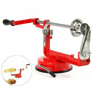304 Stainless Steel Twisted Potato Apple Slicer Peeler Spiral French Fry Cutter