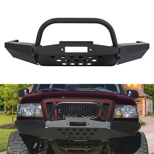 For Elite Ford Ranger Modular Front Winch Bumper with Bull Bar 1998-2011