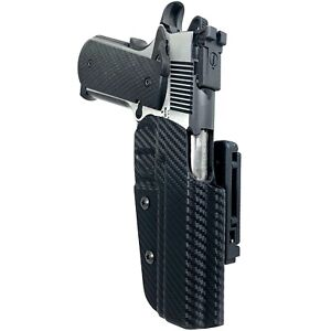Black Scorpion Gear 1911 Classic 5'' Pro IDPA Competition Holster OWB