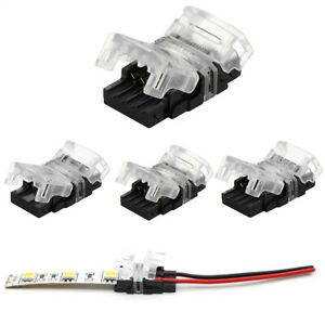 2/4/5PIN LED Strip Connector for Waterproof Strip Quick Connection Use Terminals
