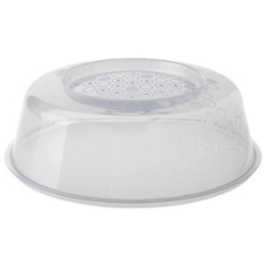 Plastic Food Plate Cover Splatter Guard Shield Lid for Microwave Dish Bowl
