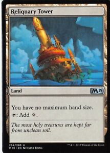 Reliquary Tower *Uncommon* Magic MtG x1 Core 2019 M19