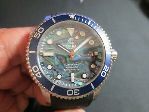 Deep Blue Master 1000 - Abalone Shell Dial