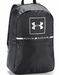 UNDER ARMOUR PROJECT 5 Backpack Bags Black Unisex - Black -New
