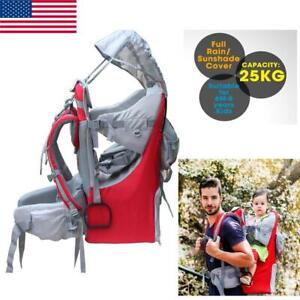 Waterproof Hiking Child Backpack Sun Shade Carrier Camping and Walking