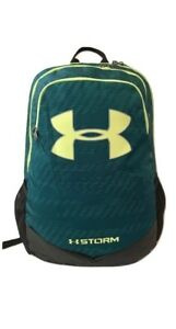 Under Armour Youth Storm Scrimmage Backpack GreenYellow 1277422-417