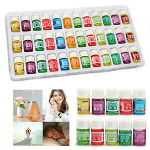 36PCS 12 Scent Essential Oil 3ml Set Home Fragrance For Air Diffuser Humidifier