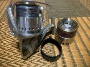 Shimano 99 Stella 10000Pg With Spare Spool Used Engine Good Pe Casting Blue Tuna