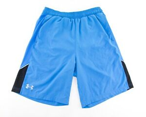 Under Armour Running Shorts Mens Small Heat Gear Fitted Liner Pockets 9