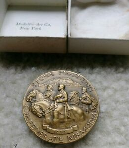 1970 STONE MOUNTAIN CONFEDERATE MEMORIAL CIVIL WAR ROBERT E LEE MEDAL COIN