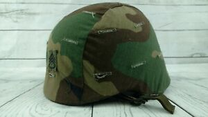 PASGT M-8 Helmet Size Medium with Camouflage Cover