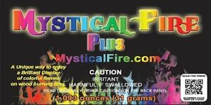 Mystical Fire PLUS 25 Pack Campfire Fireplace Colorant Packets Packs